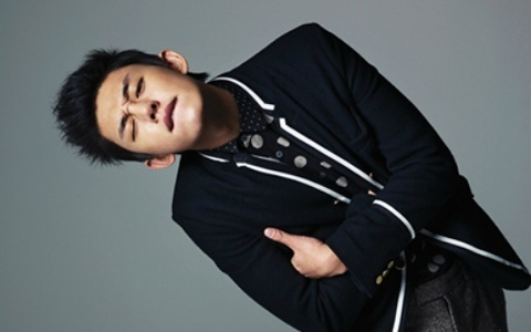 Yoo Ah In in Fall/Winter Fashion for Bazaar