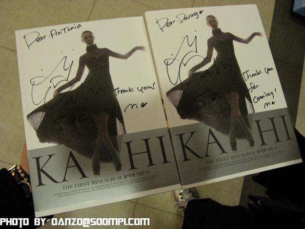 KAHI First Album Fansigning Synnara Records 22611