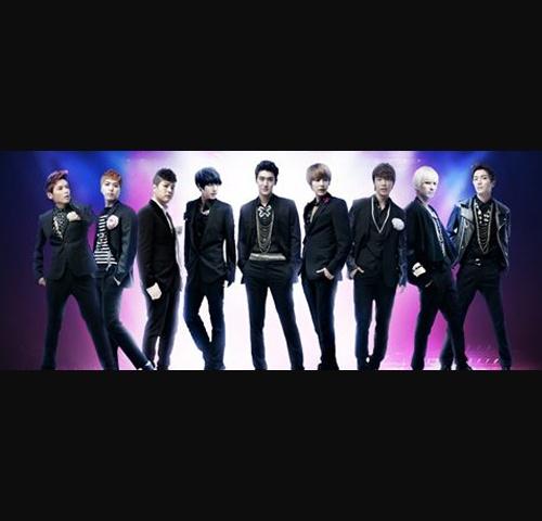 Super Junior Models for LG Electronics