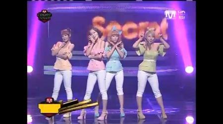 Mnet M! Countdown 01.13.11