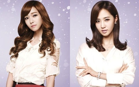 J. Estina Releases 2012 S/S Collection Photos of SNSD's Jessica and Yuri
